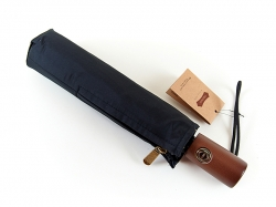 Стильна парасоля-автомат з дерев'яною ручкою
